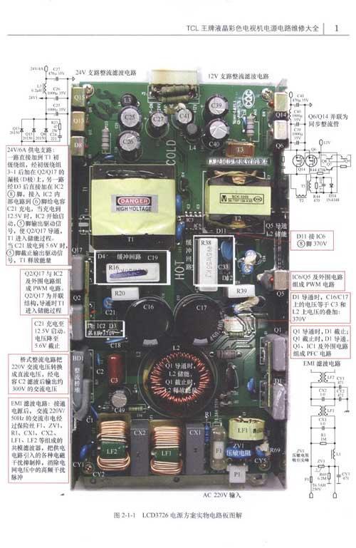 电源电路维修大全》立足维修工作实际,全面梳理了tcl集团生产的平板电