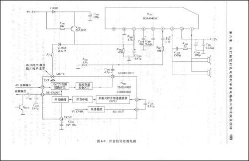 2.康佳t953h型彩色电视机的伴音电路是怎样组成的?3