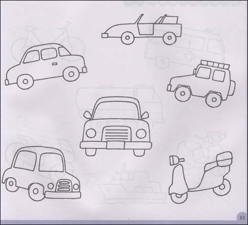 儿童多维简笔画·交通-湖北少年儿童出版社