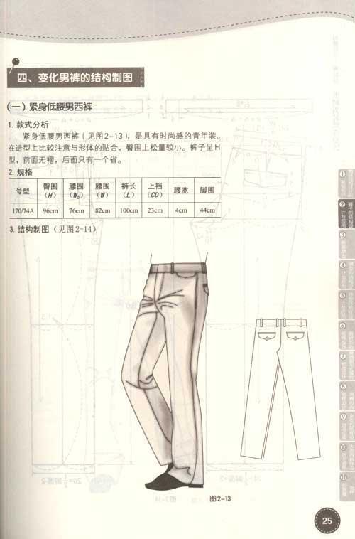 背心的分类 二,传统三件套西服背心纸样设计