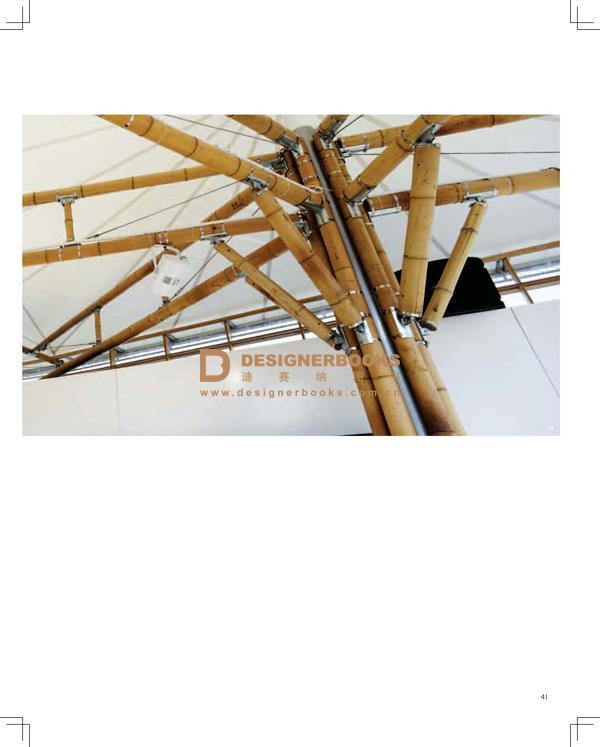"""这座创新性双层竹子及膜结构建筑呈现了以""""可持续性城市化""""为主题的"""""""