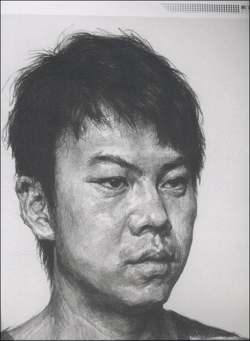 敲门砖:素描头像(刘斌)从五官到头像