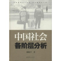 中国社会各阶层分析(珍藏版)