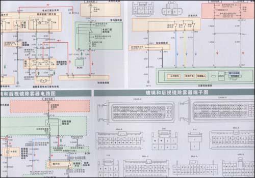 音响/数据线路电路图(2009款)51