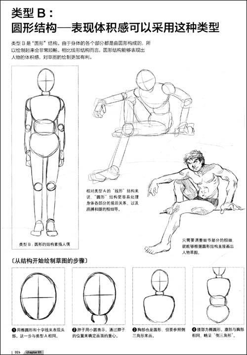 超级漫画素描技法人物结构篇