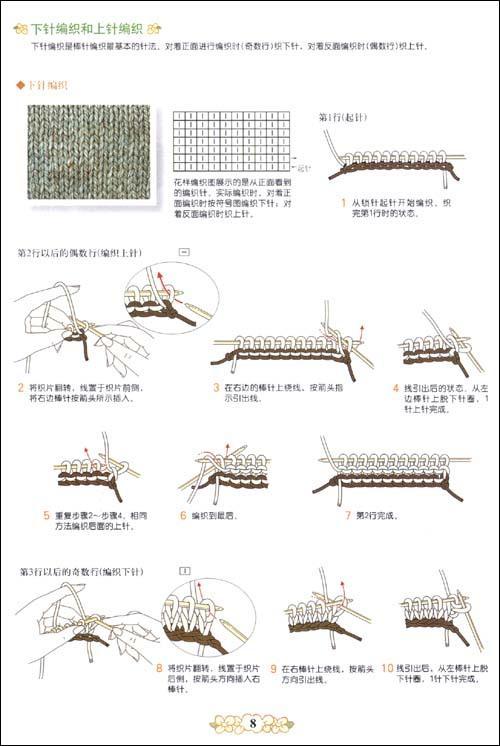 棒针编织基础·实例篇--手工diy-文轩网