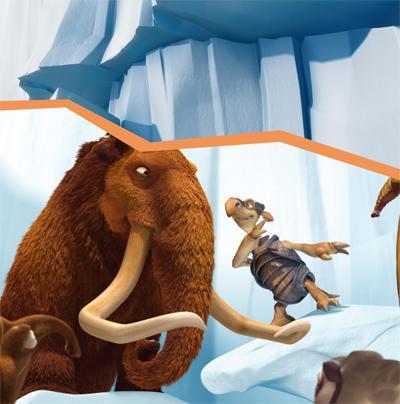 冰川时代2认读故事:动物大逃亡-美国20世纪福克斯