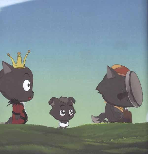 """""""月亮女王""""在众人的簇拥下走"""